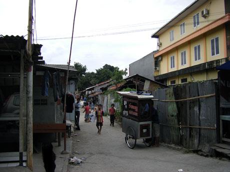 Jakarta Seitenstraße